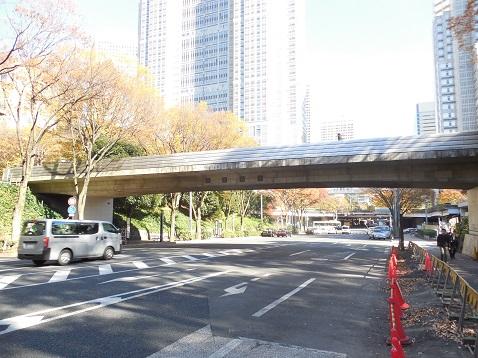 ふれあい通の公園大橋@東京都新宿区b