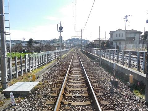 横浜高速鉄道こどもの国線の長津田8号踏切@横浜市青葉区f