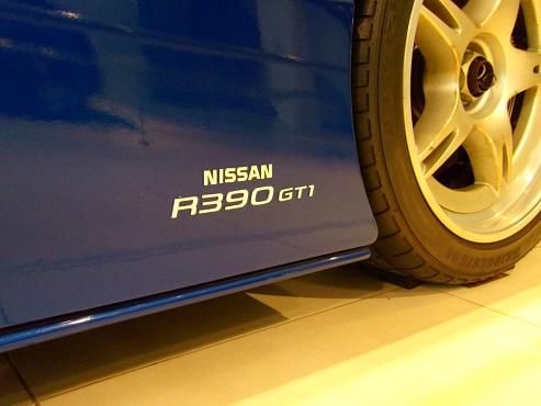 日産R390GT1 98年ルマン公認取得用ロードカーh