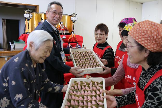 20160303とっておき豆工房桜餅