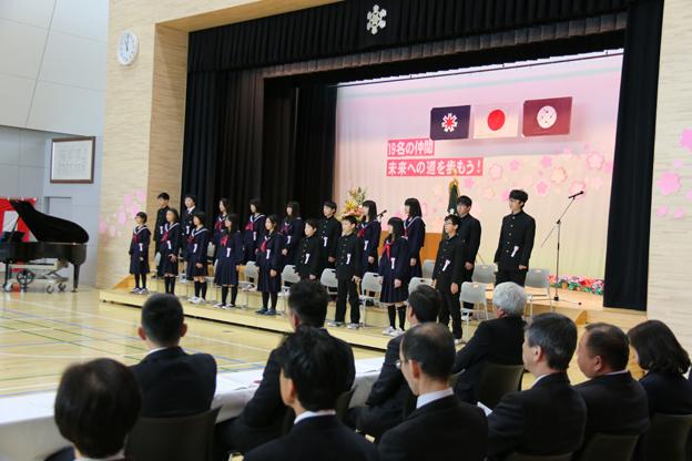 20160319ぬまた小学校卒業式