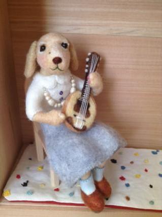 夫婦人形(指揮者&マンドリン奏者) 3