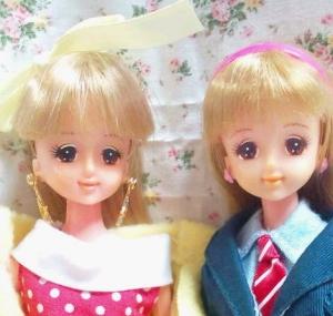 1タカラバービーとジェニー
