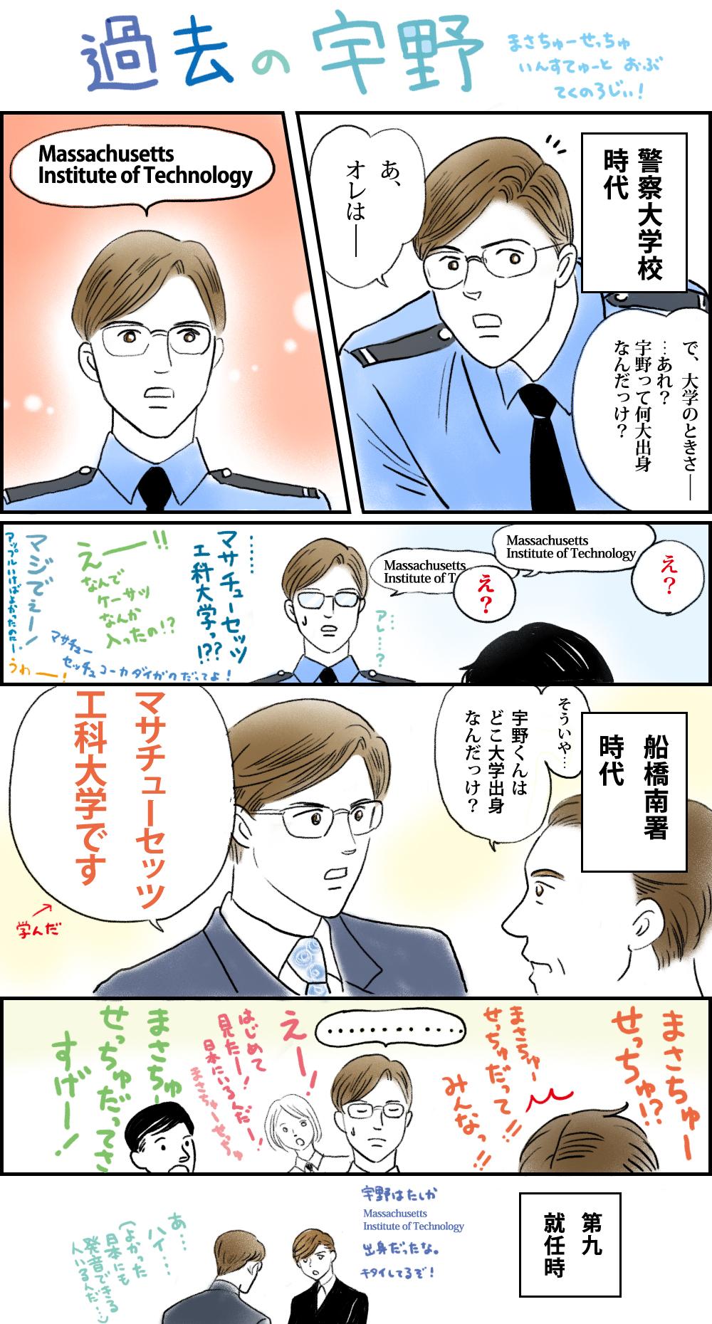 新装版7.8巻発売記念 過去の宇野