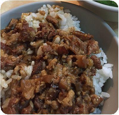 施家鮮肉湯圓 ルーロウ飯