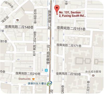 杏福中醫診所地図