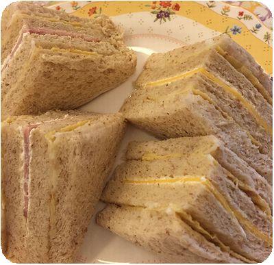 洪瑞珍茶サンド