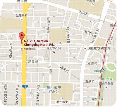 大龍峒魚丸店地図