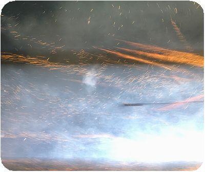 鹽水蜂炮ロケット
