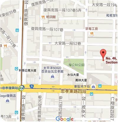 和昌茶荘地図