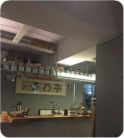 串門子茶館お茶缶