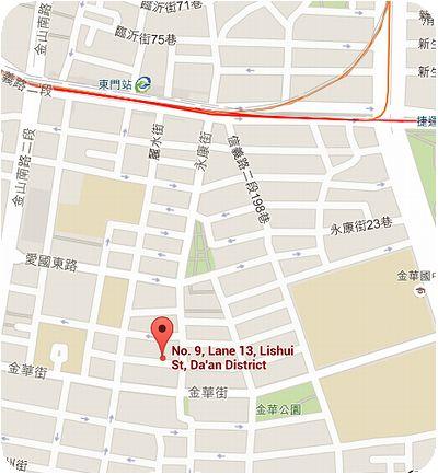 串門子茶館地図