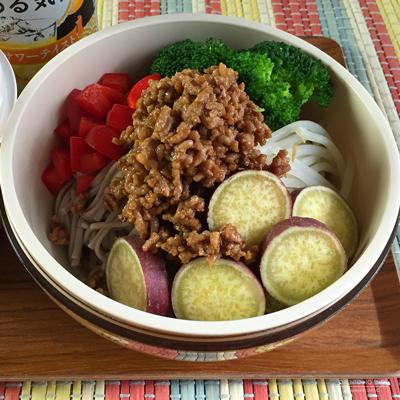 胡麻坦々野菜そば弁当03