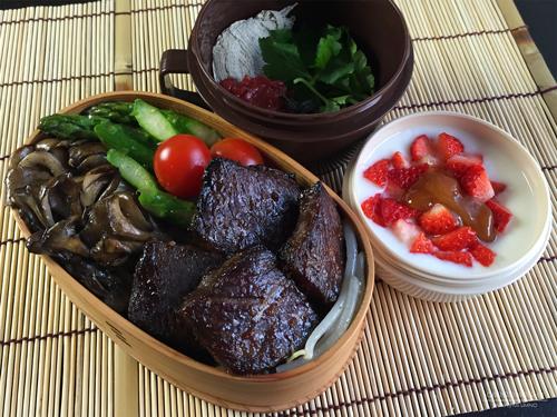 牛肉の味噌漬け弁当01