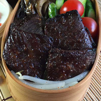 牛肉の味噌漬け弁当02