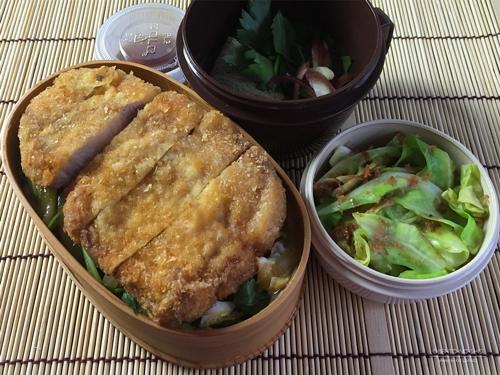 とじないカツ丼弁当01