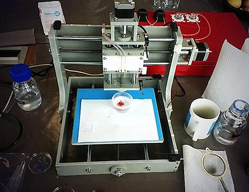 3Dプリンターで果物を印刷