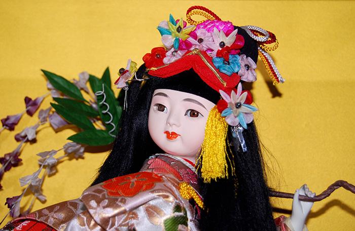 家の日本人形