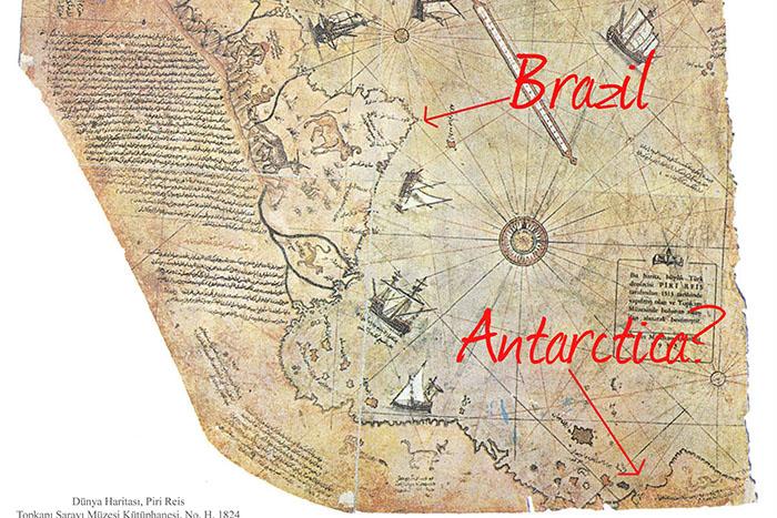 ピーリーレイスの地図