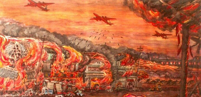 東京大空襲の話
