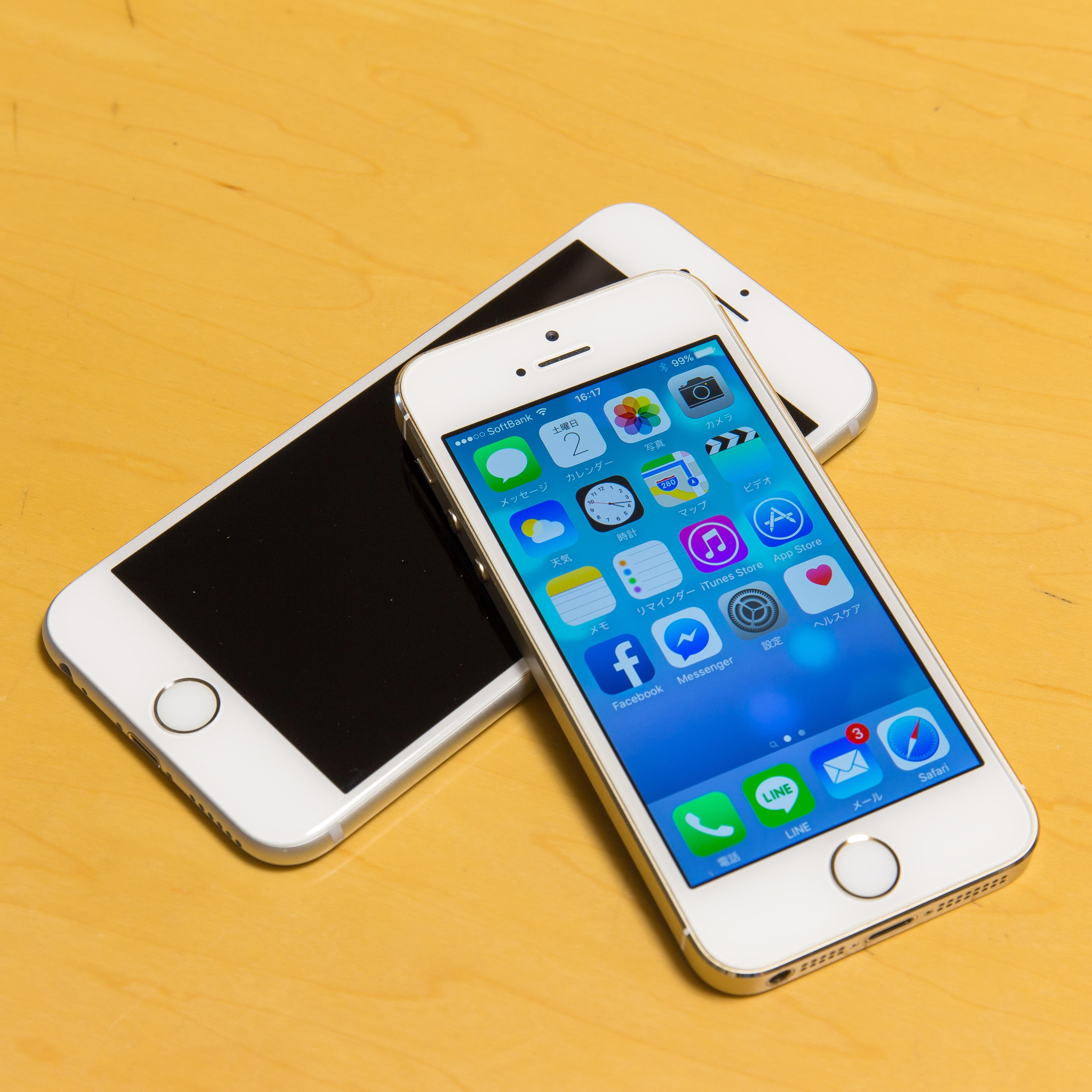 iPhone6Sと5S