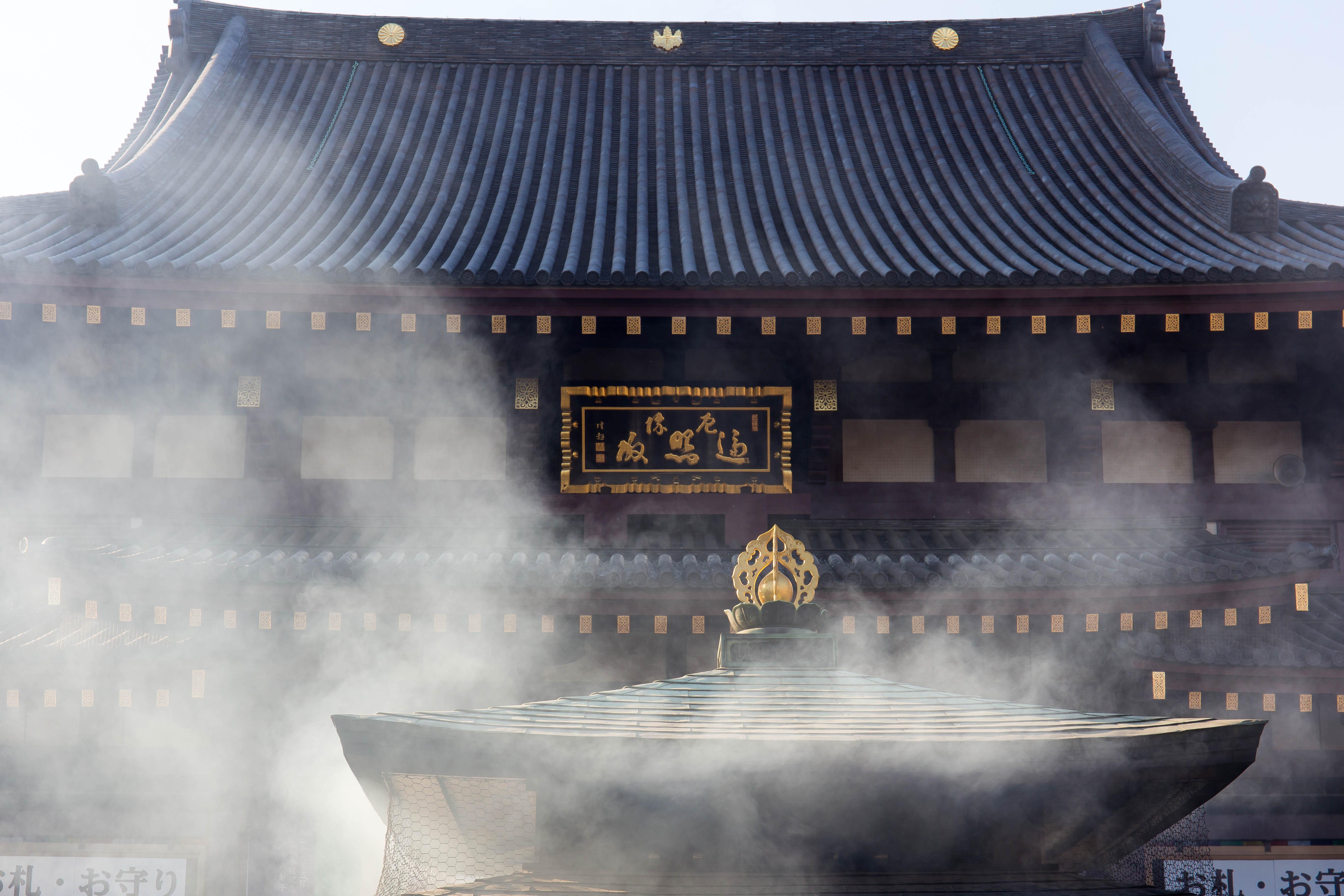 川崎大師初詣(1)