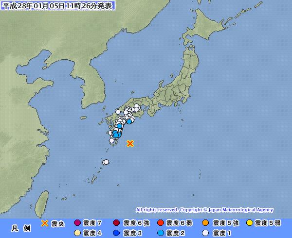 南海トラフ来たらお前らまず何する?5日には小さな地震が多発