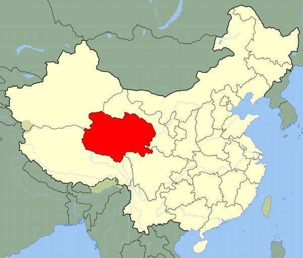 中国・青海省でM6.4の地震 深さ約10キロ