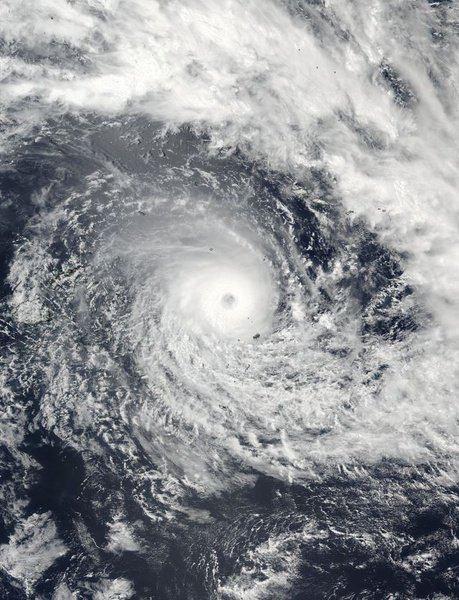史上最強のサイクロン「ウインストン(Winston)」がフィジーに上陸…カテゴリー5最大瞬間風速90メートル