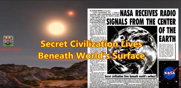 NASAが地底人の電波を受信?専門家「信号は高度な知的生命体によって送信されている」