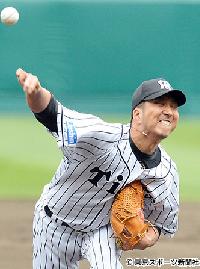 【阪神】藤川球児、14年ぶり甲子園先発マウンドで4回1失点