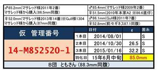 web-14-M852520-1管理カード♂85mm