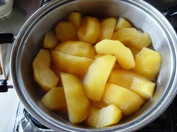 16リンゴシロップ煮