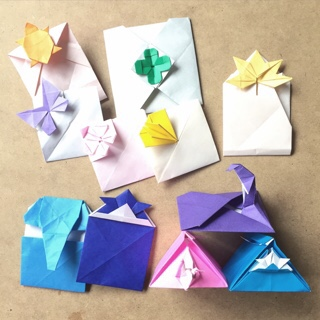 クリスマス 折り紙 ポチ袋 折り紙 : origamipaper.blog.fc2.com