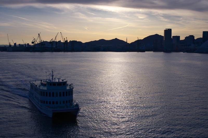 神戸港 神戸大橋