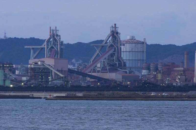 和歌山港 波止場 新日鐵住金 工場
