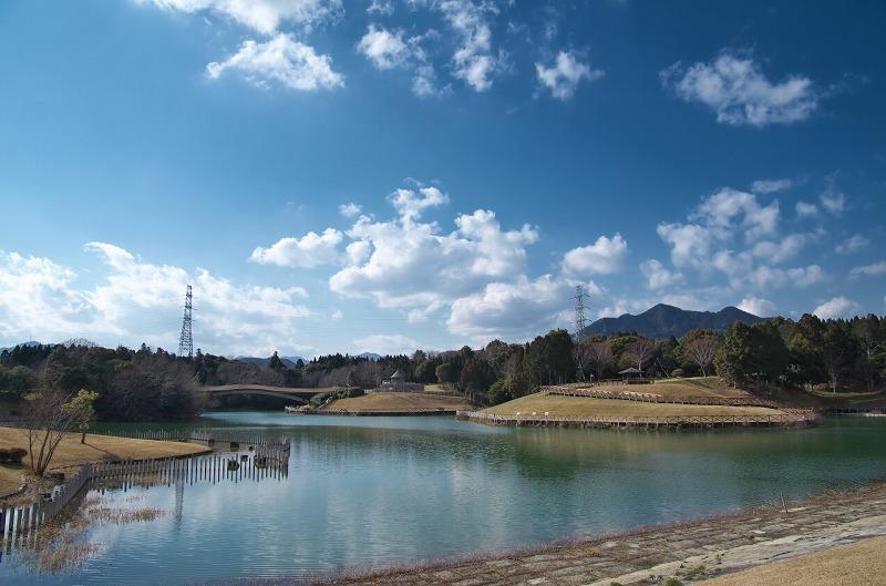 亀山サンシャインパーク 池