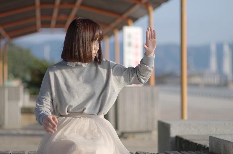 片男波海岸 ポートレート