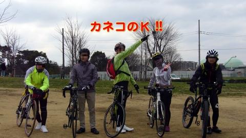 皆さんでパチリ@東伏見公園