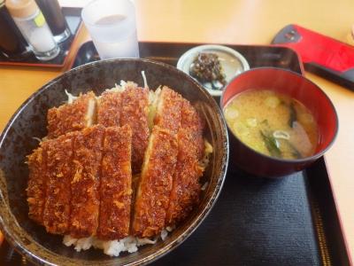 ダブルカツ丼ライス大盛り(7)