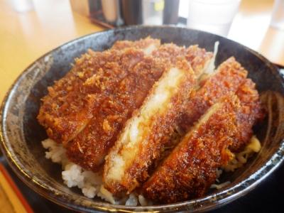 ダブルカツ丼ライス大盛り(8)