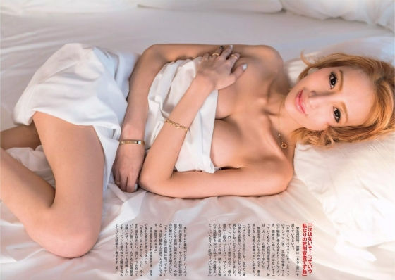 加藤紗里 FLASH袋とじのGカップ爆乳セミヌードグラビア 画像20枚 6