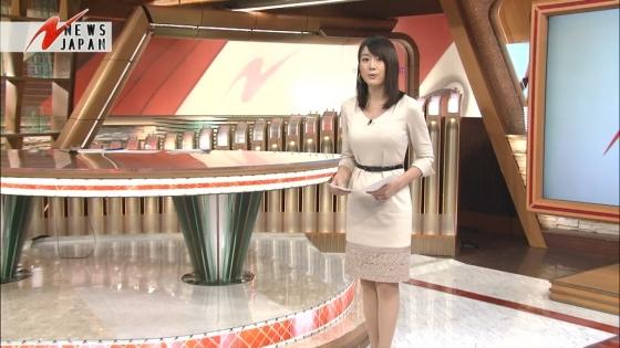 大島由香里 Dカップ着衣巨乳と美脚が気になるキャプ 画像30枚 13