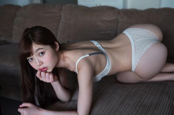 松岡里英 競泳水着や下着をお尻に食い込ませた美尻グラビア 画像19枚 1