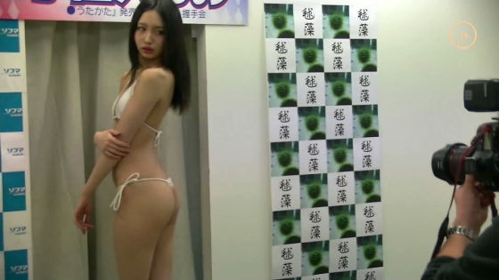 宇佐美りお うたかた販促イベントの陰毛処理跡とTバック尻 画像27枚 13