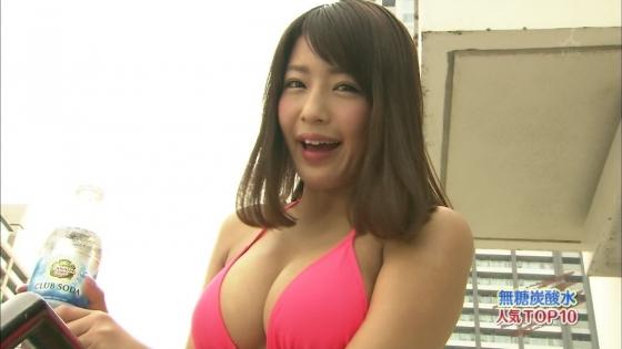 橋本梨菜 ランク王国で披露したGカップ水着姿谷間キャプ 画像29枚 5