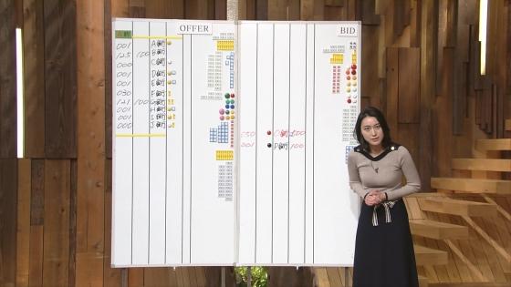 小川彩佳 Dカップ着衣巨乳を披露する報道ステーションキャプ 画像31枚 12