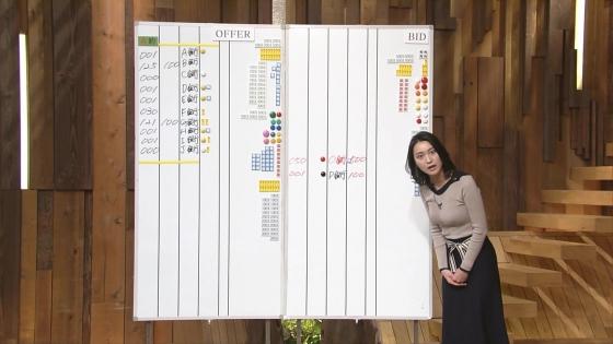 小川彩佳 Dカップ着衣巨乳を披露する報道ステーションキャプ 画像31枚 13