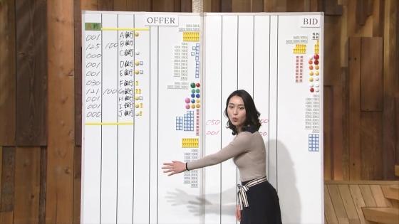 小川彩佳 Dカップ着衣巨乳を披露する報道ステーションキャプ 画像31枚 18