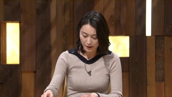 小川彩佳 Dカップ着衣巨乳を披露する報道ステーションキャプ 画像31枚 1